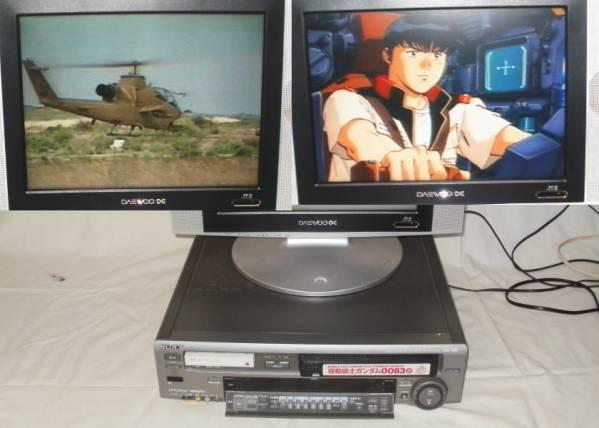 ソニー 8mm・VHSデッキ WV-TW1 映像出ますジャンク品 3000円スタート