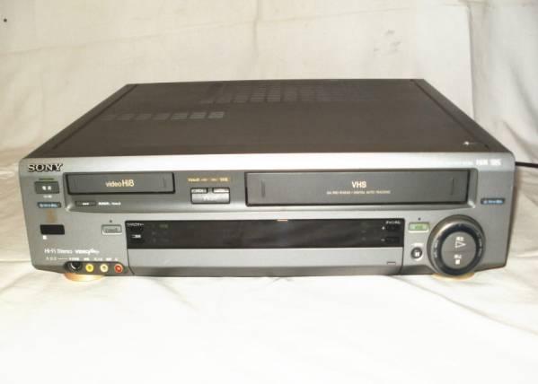 ソニー 8mm・VHSデッキ WV-TW1 映像出ますジャンク品 3000円スタート_画像2