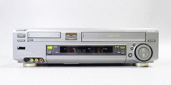 ソニー Hi8/S-VHS ビデオデッキ WV-ST1 ジャンク