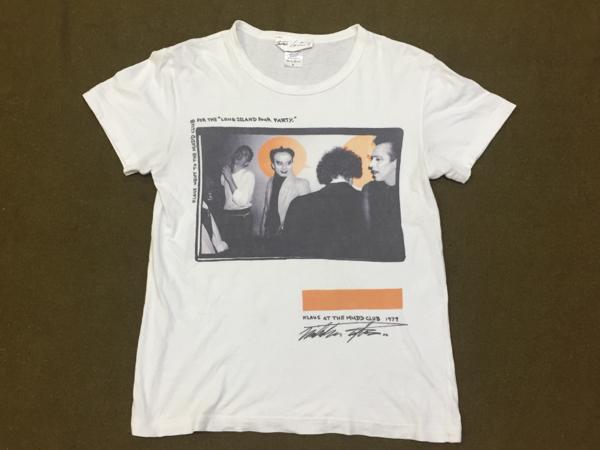 ニコラスタイラー Photo Tシャツ クラウスノミ S MUDDCLUB 1979
