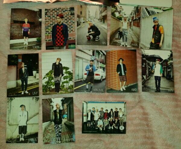 EXO GREETING PARTY IN JAPAN HELLO! ヘアゴムとステッカー グリパ エクソ ライブグッズの画像