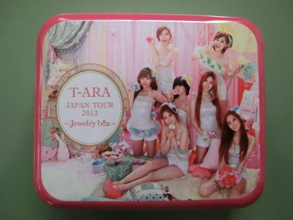 T-ARA ティアラ 缶バッジ3個 缶ケース セット  Jewelry Box 2012ツアー グッズ