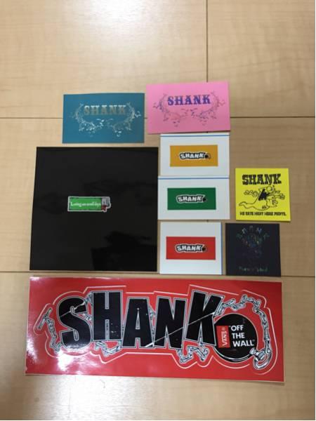 SHANK ステッカー 9枚セット シャンク