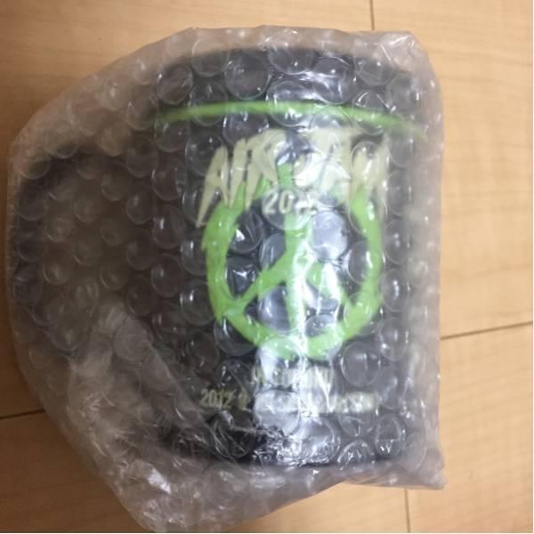 未開封 AIRJAM2012 マグカップ オフィシャルグッズ AIRJAM Hi-STANDARD BRAHMAN ハイスタ ブラフマン kenyokoyama 横山健 PIZZA OF DEATH ライブグッズの画像