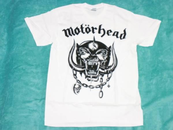 MOTORHEAD モーターヘッド Tシャツ M バンドT ロックT NWOBHM 白