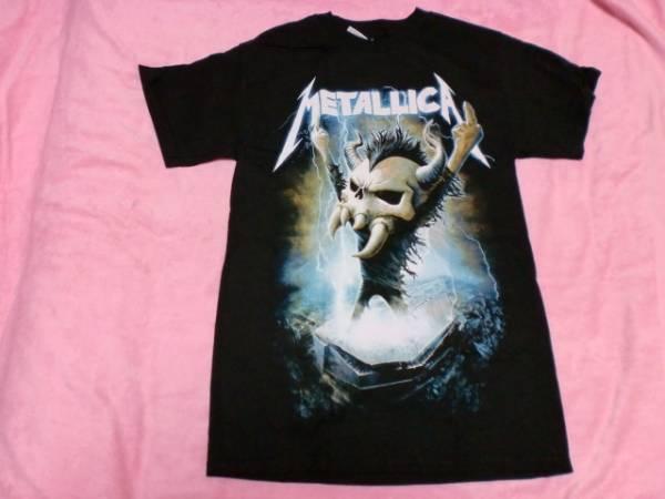 METALLICA メタリカ Tシャツ S ロックT バンドT Slayer Megadeth ライブグッズの画像