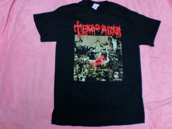 TERRORIZER テロライザー Tシャツ S バンドT ロックT Napalm Death