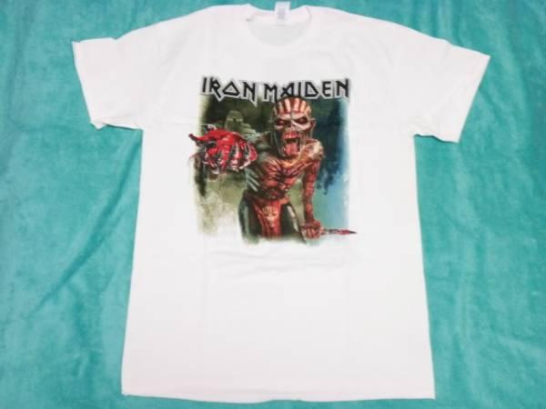 IRON MAIDEN アイアン メイデン Tシャツ M バンドT ロックT ツアーT NWOBHM Saxon Def Leppard