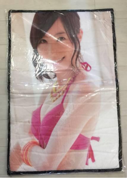 新品 58x39cm AKB48 SKE48 松井珠理奈 マット グッズ フロアマット 玄関マット 非売品 水着 豆腐プロレス ライブ・総選挙グッズの画像