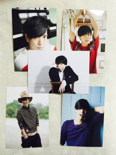 ★黒羽麻璃央 カレンダー ブロマイド 4セット③★生写真