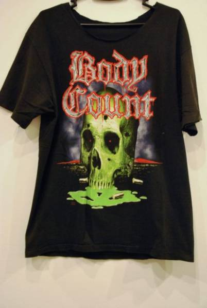 90s body count バンドtシャツヴィンテージdeath anthrax