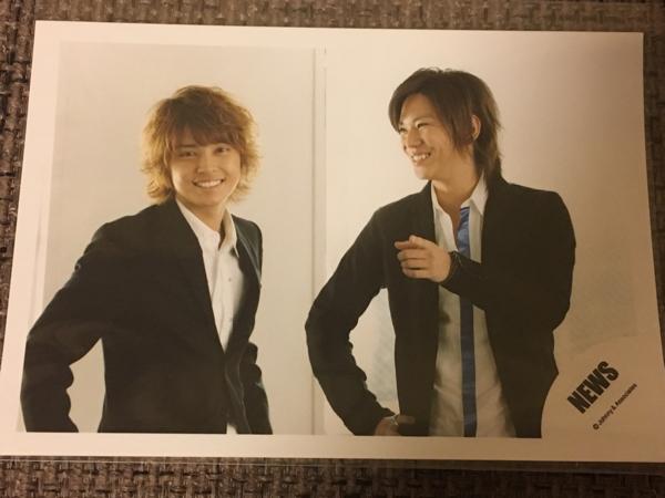 NEWS☆手越祐也&加藤シゲアキ 公式写真