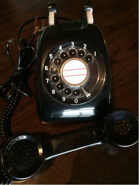 600-A2 黒電話 日本電信電話公社 昭和レトロ_画像2