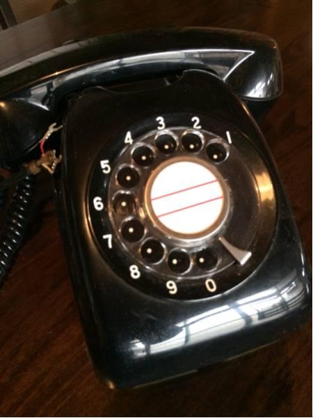 600-A2 黒電話 日本電信電話公社 昭和レトロ