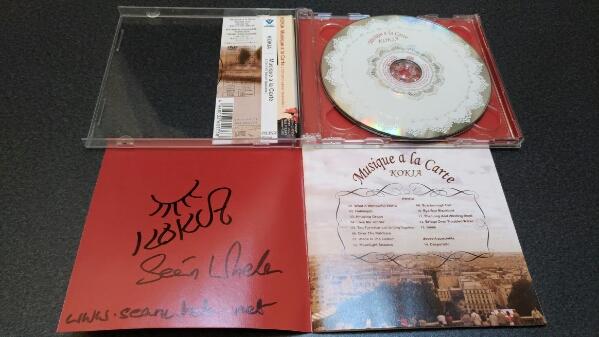 「Musique a la Carte」KOKIA アルバム サイン入り