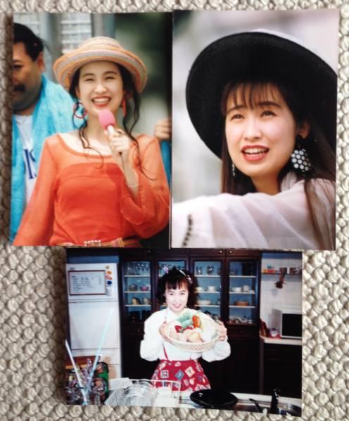 森口博子 生写真 4枚セット