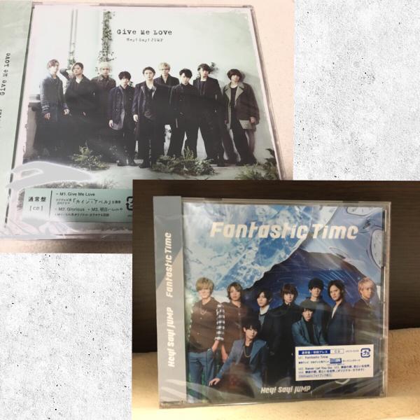 Hey!Say!JUMP CD☆Give Me LoveとFantastic Time☆初回プレス2枚
