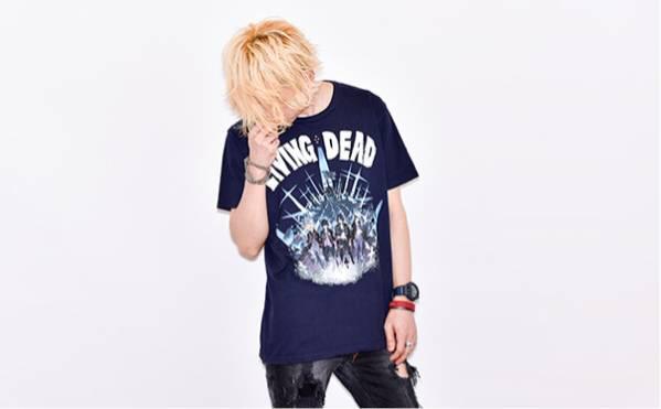 BUMP OF CHICKEN バンプ living dead M グッズ 夏フェス Tシャツ ライブグッズの画像