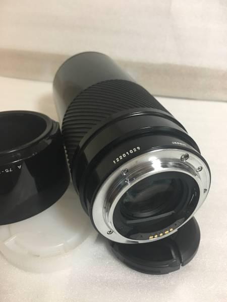 ソニーαミノルタ 75-300mmF4.5-5.6 フード付_画像3