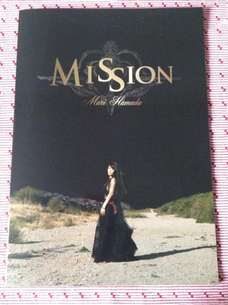 【美品】浜田麻里 MISSION パンフレット+フライヤー5部チラシ付