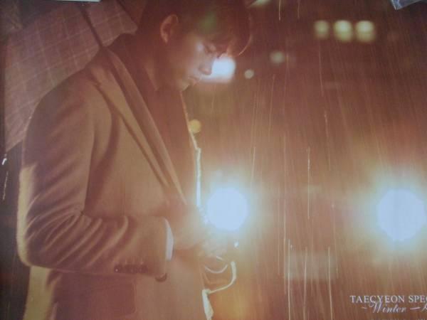 テギョン TAECYEON SPECIAL Winter 特典 B3 ポスター 2PM