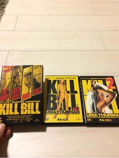 KILL BILL 1 + 2 ボックスセット タランティーノ ユマサーマン 2枚組 クエンティン タランティーノ 千葉真一 グッズの画像