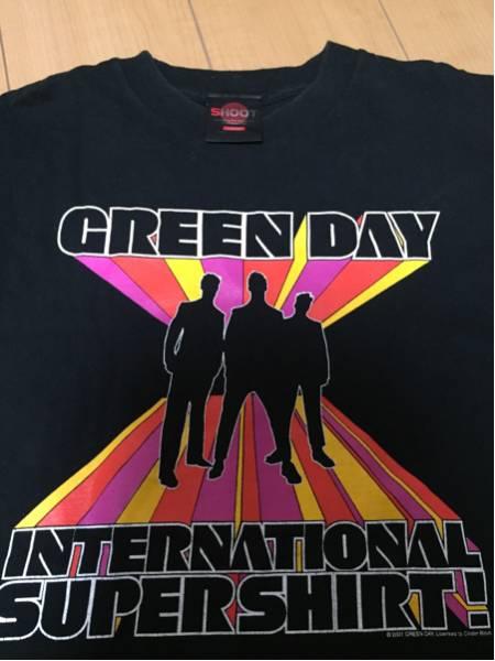 【USED】グリーンデイ GREEN DAY Tシャツ Lサイズ
