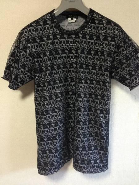 コムデギャルソンオムプリュス COMME des GARCONS HOMME PLUS 半袖Tシャツ S スカル メッシュ プリュス コムデギャルソン オムプリュス_画像1