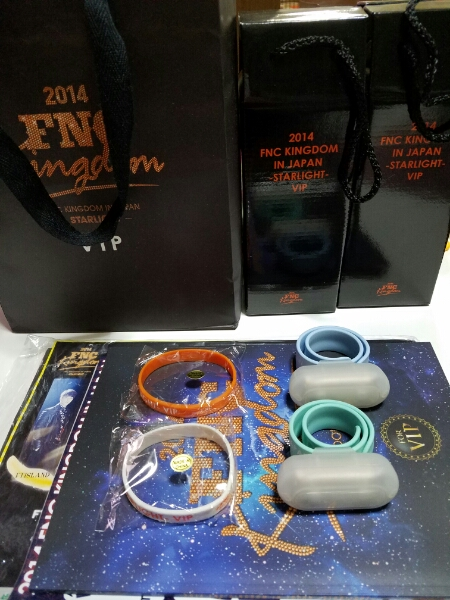 FNC kingdom2014 VIP限定グッズ 二部セット未使用タンブラー×2