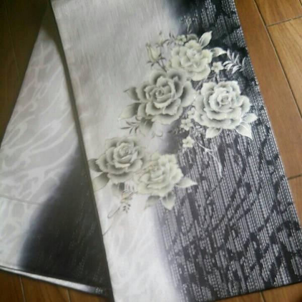 〔定価150万〕 〔未使用〕薔薇 輝き 袋帯_画像2