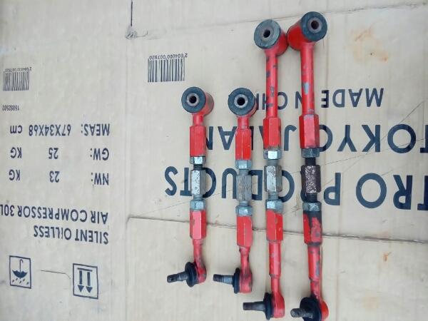 カプチーノ リアアーム 調整式 純正加工品 検ドリキャンバー