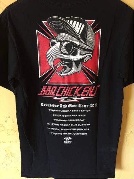 BBQ CHICKENS ツアーTシャツ Ken Yokoyama PiZZA OF DEATH ライブグッズの画像