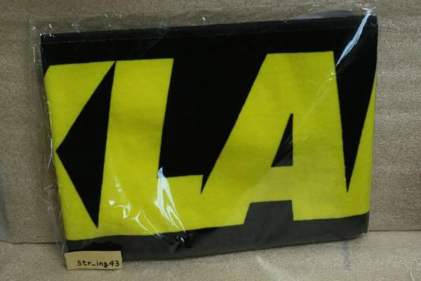 未使用 AIR JAM 2016 X-LARGE タオル 黒×黄色 MAN WITH A MISSION マンウィズ MWAM グッズ Hi-STANDARD ハイスタ ken yokoyama XLARGE