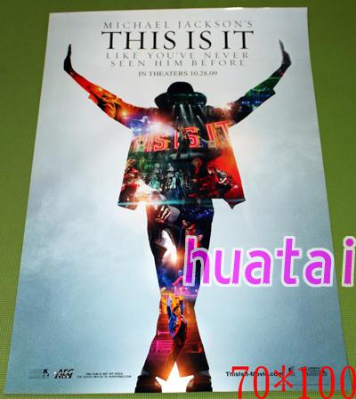 マイケル・ジャクソン Michael Jackson THIS IS IT ポスター_画像1