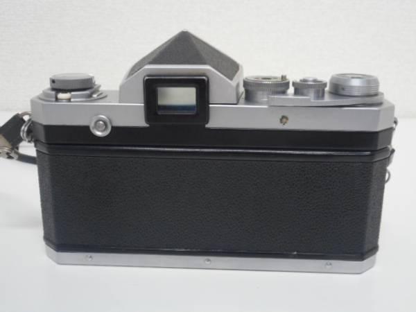 ニコン F アイレベル 前期品+NIKKOR-S Auto1:1.4 50mm_画像2