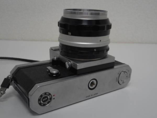 ニコン F アイレベル 前期品+NIKKOR-S Auto1:1.4 50mm_画像3