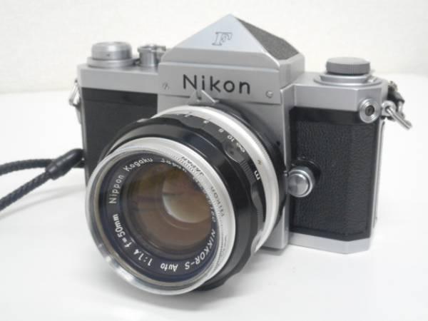 ニコン F アイレベル 前期品+NIKKOR-S Auto1:1.4 50mm