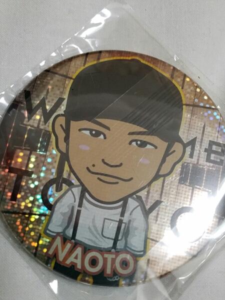 NAOTO モバイル 缶バッジ モバ缶 三代目 MP MV WTT