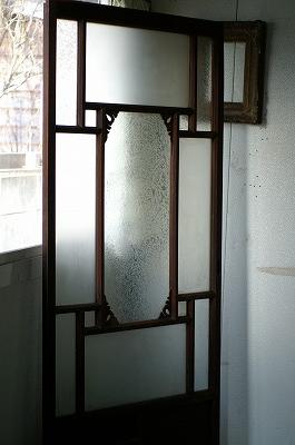 古い洋館/結霜ガラス/アンティーク/ドア/ケビント建具/扉/戸A