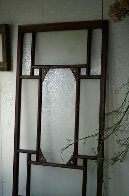 古い洋館/結霜ガラス/アンティーク/ドア/ケビント建具/扉/戸B_画像2