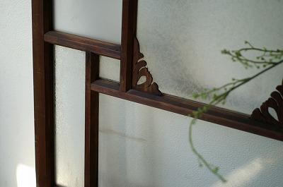 古い洋館/結霜ガラス/アンティーク/ドア/ケビント建具/扉/戸A_画像3