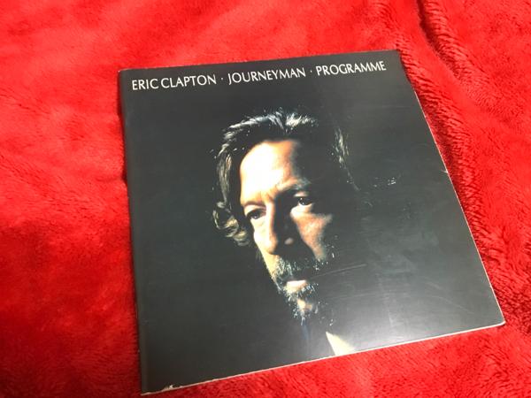 ERIC CLAPTON 1990 ツアーパンフレット 日本武道館