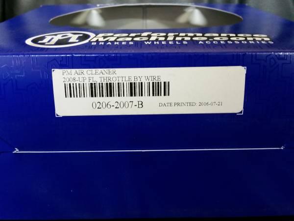 送料込 PM製エアクリーナー0206-2007-B新品未使用FLツーリング_画像2