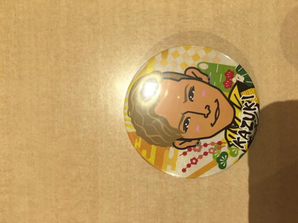 トラステ ガチャ 袴 お正月 KAZUKI 缶バッジ