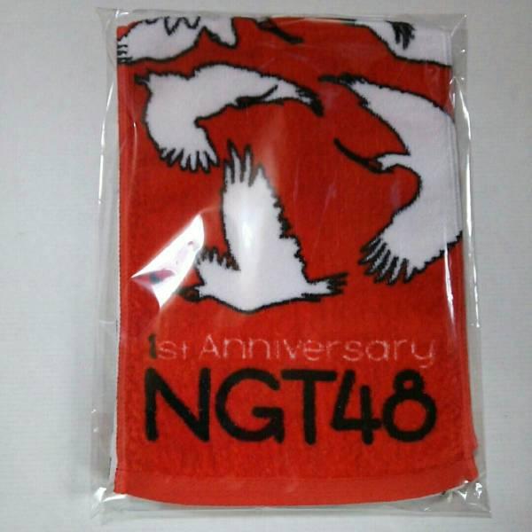 NGT48 劇場一周年記念 マフラータオル ライブグッズの画像
