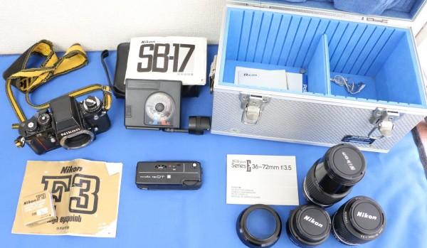NIKON / ニコン F3 ボディ / NIKKOR 200mm 1:4 / AF NIKKOR 28mm 1:2.8 など他 (1747)_画像3