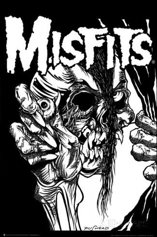 MISFITS 海外限定特大ポスター 正規品 日本未発売 貴重 インテリア punk balzac pushead