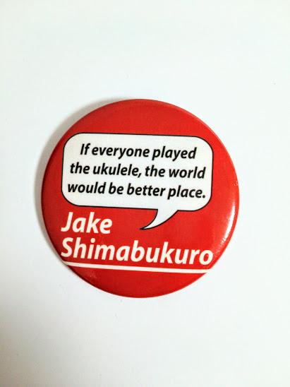 ジェイクシマブクロ JAKE SHIMABUKURO★公式 缶バッジ