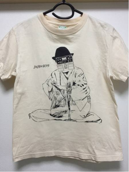 ZAZEN BOYS ザゼンボーイズ ディレイマン Tシャツ 向井秀徳