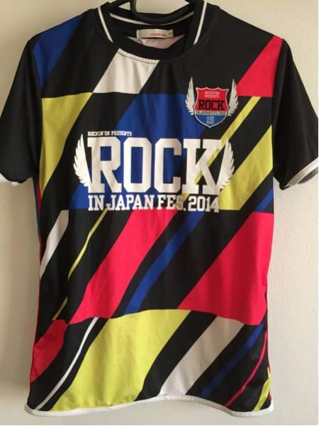ROCK IN JAPAN ロックインジャパン サッカーシャツ Tシャツ ユニフォーム